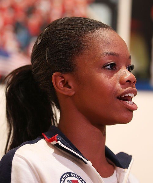 Gabby Douglas Explains Bad Hair Day, 'This is NOT a Beauty Pageant!'