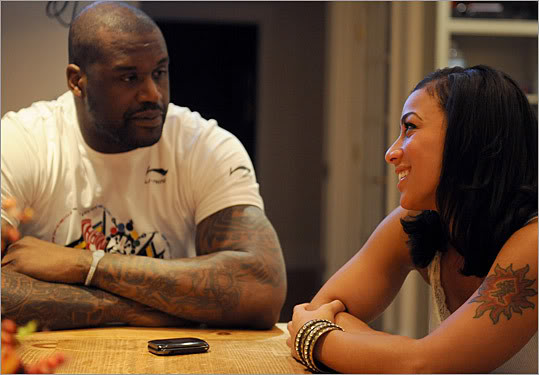 Hoopz Responds To Shaq Break-Up Rumors, Blames Blogs