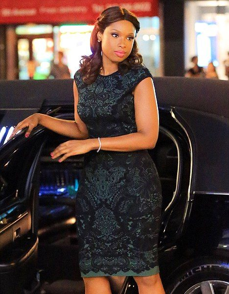 Spotted. Stalked. Scene. Jennifer Hudson Filming 'Smash' in the Big Apple