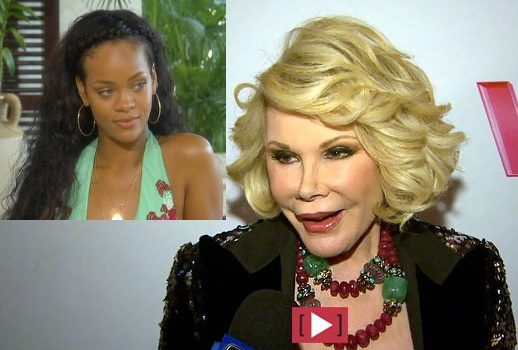 Joan Rivers Calls Rihanna An Idiot, Rihanna Tells Joan to Put On Diapers