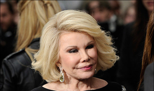 Joan Rivers Handcuffs Herself At Costco