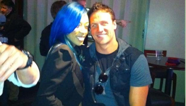 K. Michelle Denies Dating Olympic Swimmer