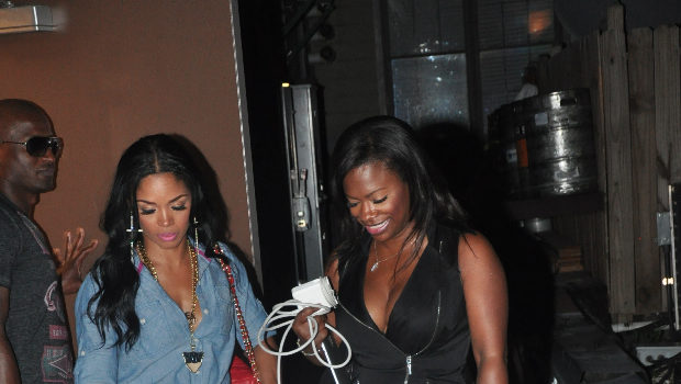 Reality Stars Kandi Burruss & Rasheeda Hit Kandi Koated Knights