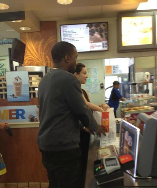 Kanye & Kim Do Mc Donalds, Rihanna Shops, Karlie Redd Hits Awards + More Celeb Stalking
