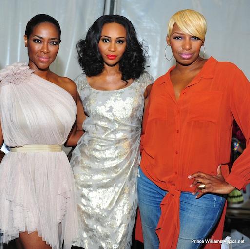 kenya moore-cynthia bailey-nene leakes-the supremes-the jasmine brand