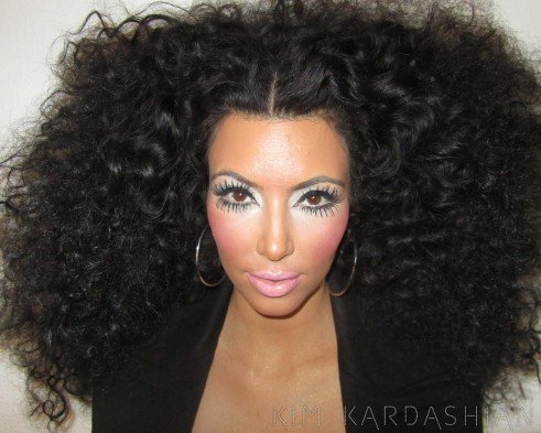 Haute Or Hot A** Mess : Kim Kardashian Tries Her Hand At Being 'Diana Ross'