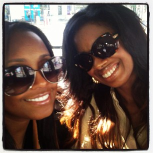 Keshia Knight Pulliam, LeToya Luckett & Friends Hit Olympic Games