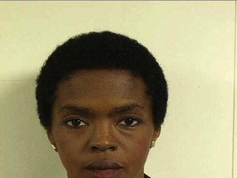 Uncle Sam Thug Life : Lauryn Hill Mug Shot Released