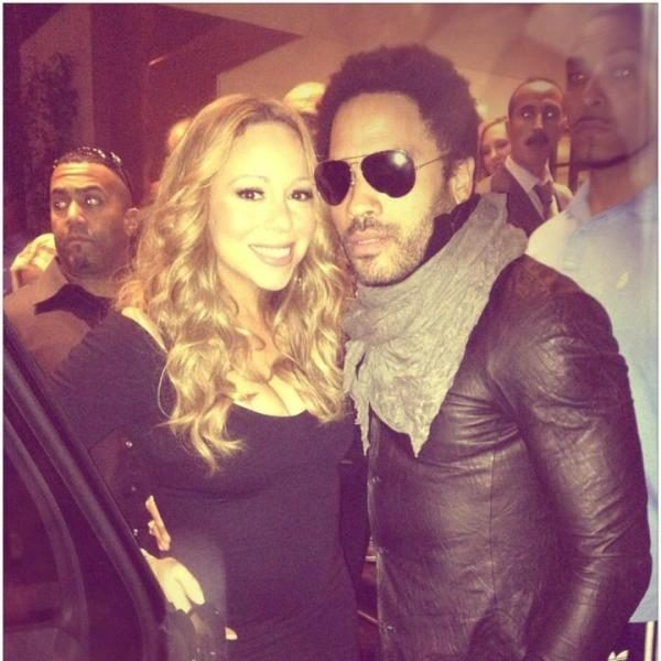 Mariah Carey Tells 'American Idol' She Wants Lenny Kravitz + Kanye West Considered