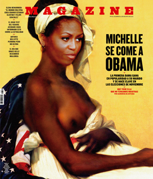 Is A Topless Photo Of First Lady Michelle Obama Offensive?