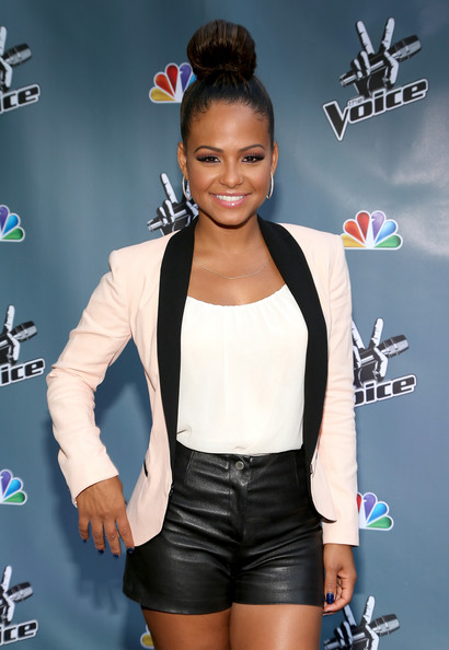Christina Milian, Cee-Lo Green & Cast Hit 'The Voice' Junket