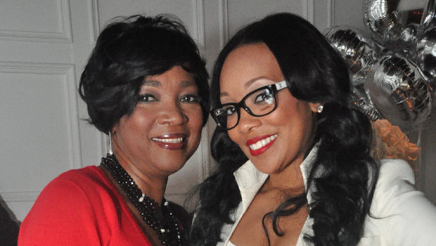 [Photos] Singer Monica Throws Lavish Birthday Party for Mother