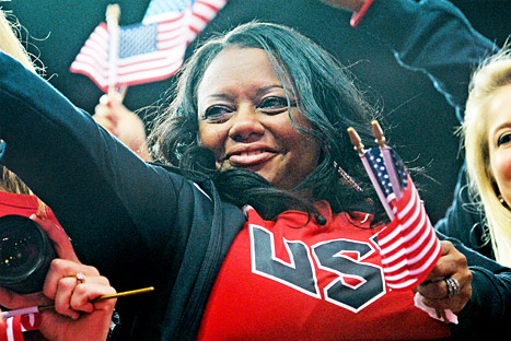 Gabby Douglas' Mom, Natalie Hawkins, Filed for Bankruptcy + Do We Care?