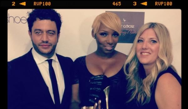 [Photos] NeNe Leakes Launches New Shoe Line With Kim Kardashian