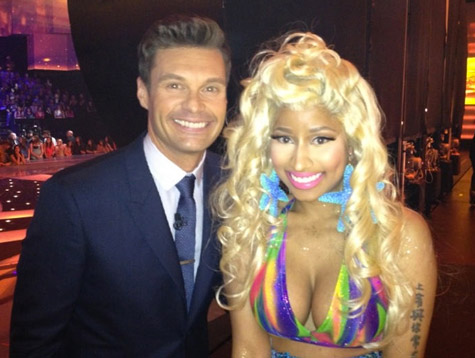 "Nicki Minaj Cast As Judge On ""American Idol"" + Is Mariah Carey Pissed?"