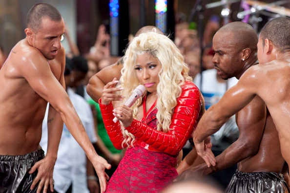 [Video] Nicki Minaj Goes All The Way Red for 'Today Show'