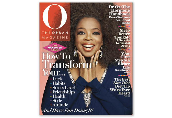 Haute or Hot A** Mess : Oprah Winfrey Goes Natural for 'O Magazine'