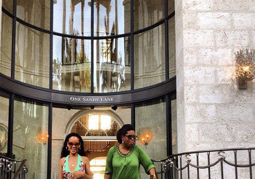 Spotted. Stalked. Scene. Rihanna Shows Oprah Winfrey Around Barbados