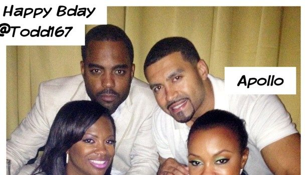 RHOA's Kandi Burruss Throws Birthday Party for Boyfriend, Todd