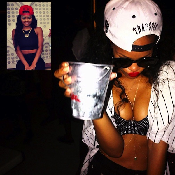 Rihanna & Teyana Taylor Twitter Beef Over Jacking Fashion Style