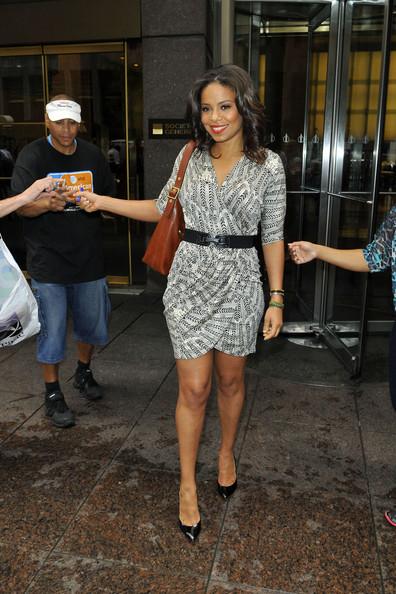Spotted. Stalked. Scene. Sanaa Lathan, Kanye & Kim Kardashian + Ciara