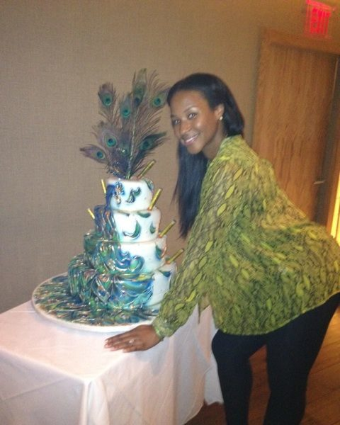 Lebron James' Fiance, Savannah, Celebrates Birthday With Tricked Out Peacock