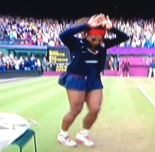 [Video] Serena Williams Wins Gold Olympic Medal + 'C-Walks' In Celebration