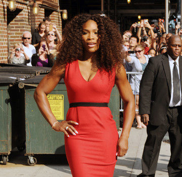 Stop & Stare: Serena Williams Serves Sexy for 'David Letterman'