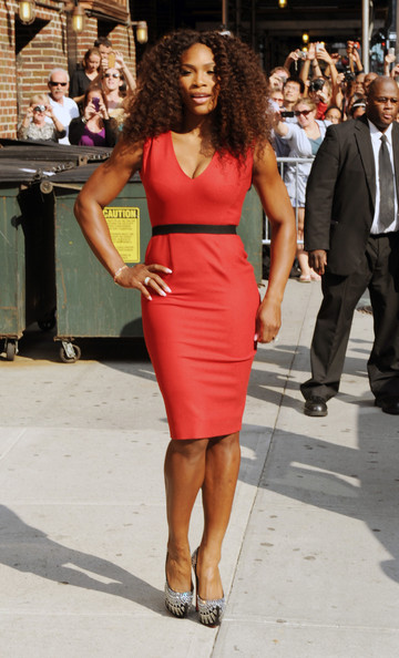 Stop & Stare: Serena Williams Serves Sexy for 'David Letterman'