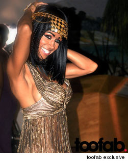 Stacey Dash Shoots First Music Video, Channels Cleopatra