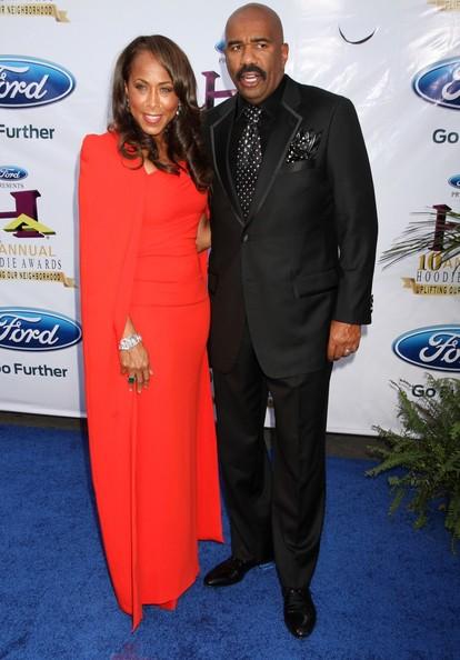 Bobby Brown, Tichina Arnold, Terrence J & Celebs Hit Steve Harvey's Hoodie Awards