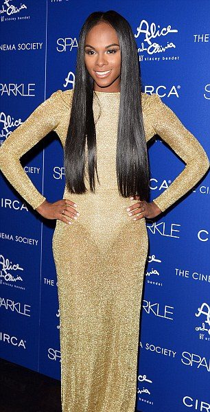 Tika Sumpter Goes 'See-Thru' + Jordin Sparks & Cast Hit 'Sparkle' Premiere