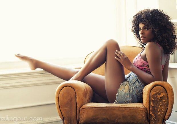 Tika Sumpter Covers Rolling Out : Talks Doing the 'Dougie', Dating & 'Sparkle'
