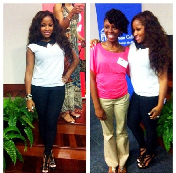 Community Dopeness: Toya Wright & Braxton's Grace Atlanta Dream Teen Event