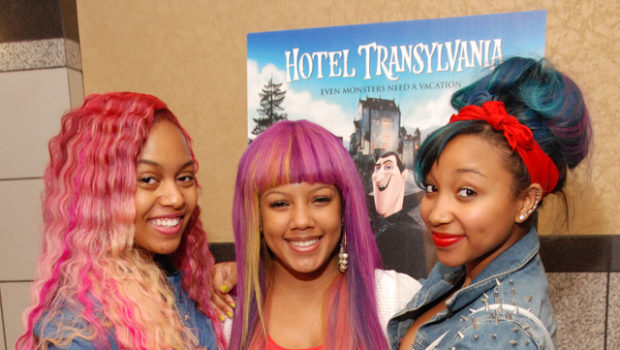 A Colorful OMG Girlz Hosts 'Hotel Transylvania' in Atlanta