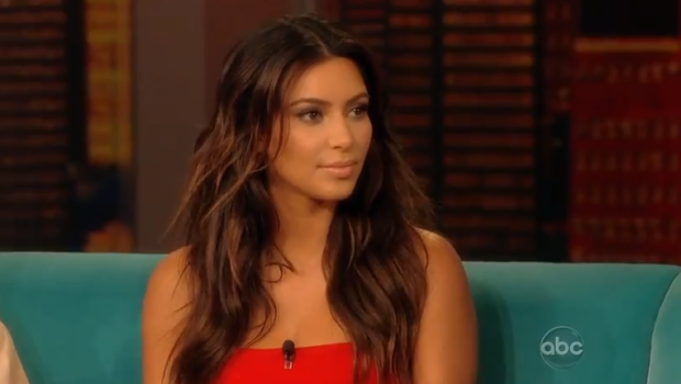 [Video] Kim Kardashian Hits 'The View', Says She Wants to Marry Kanye West