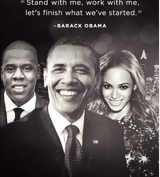[Photos] Jay-Z & Beyonce Raise $4Million for President Obama Fundraiser