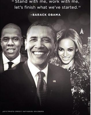 [Photos] Jay-Z & Beyonce Raise $4Million for President Obama Fundraiser