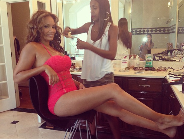 Evelyn Lozada Is Back, Returns With Photo Shoot