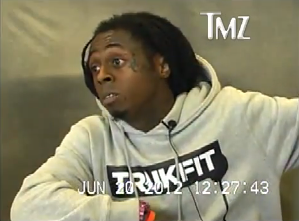 [WATCH] Are You Not Entertained? Lil Wayne's Deposition Video