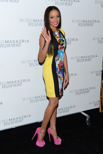 Selita Ebanks, Kim Kardashian, June Ambrose + Celebs Hit New York Fashion Week
