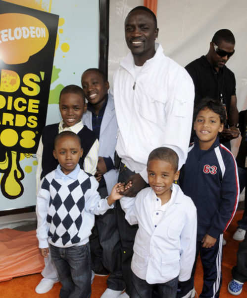 Singer Akon Is The FATHER, Now Legally Has Six Children