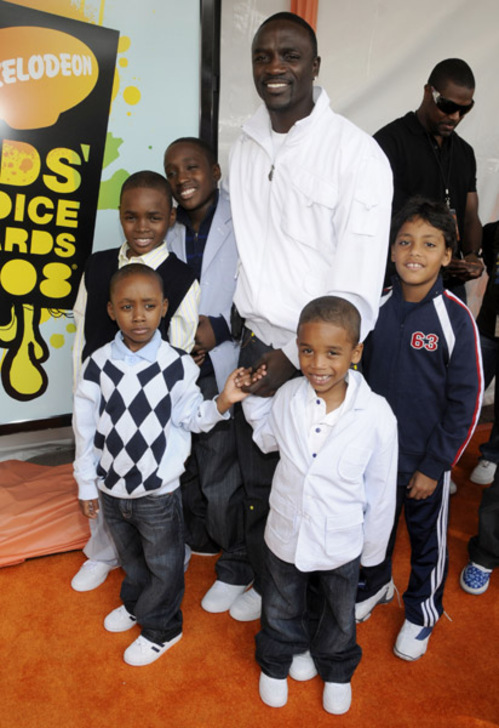 Akon's Wife Tomeka http://thejasminebrand.com/2012/09/10/singer-akon-is-the-father-now-legally-has-six-children/