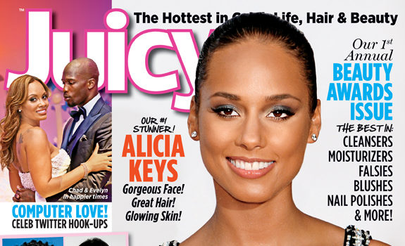Alicia Keys Covers Juicy Mag + What REALLY Happened With Her Beyonce Video?