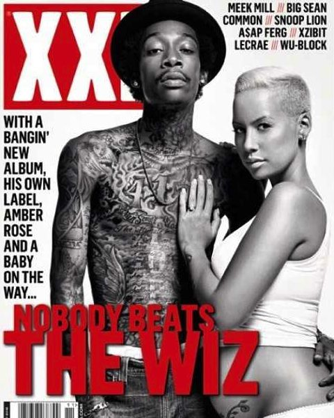 Wiz Khalifa & Amber Rose Cover XXL + Amber's Plans To Go All Natural for Child Birth