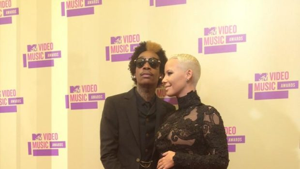 Ovary Hustlin': Amber Rose Confirms Pregnancy at MTV VMAs