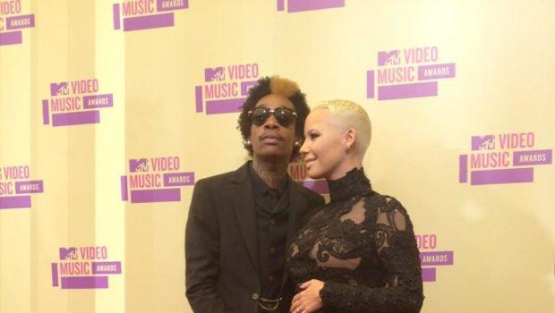 Ovary Hustlin': Amber Rose Confirms Pregnancy at MTV VMAs