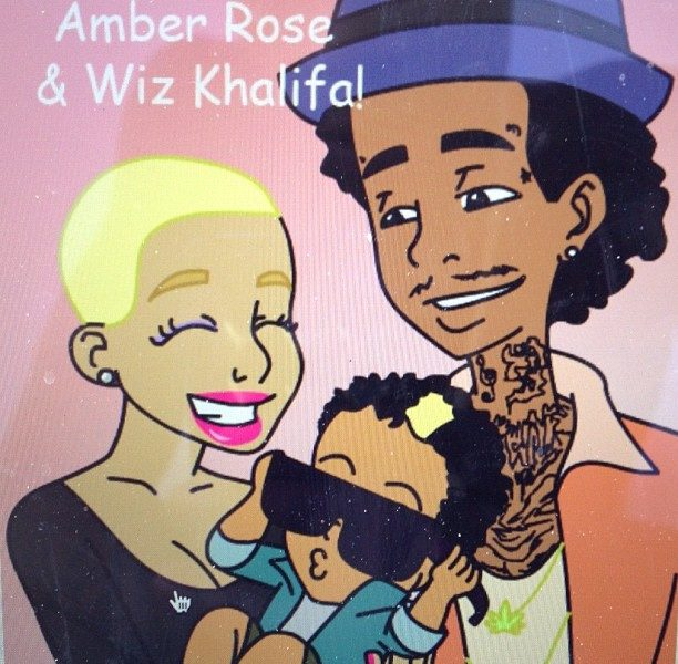 Pregnancy Brings Out Amber Rose's Softer Side