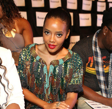 Angela Simmons, Alexandra Burke, J.R. Smith Hit New York Fashion Week