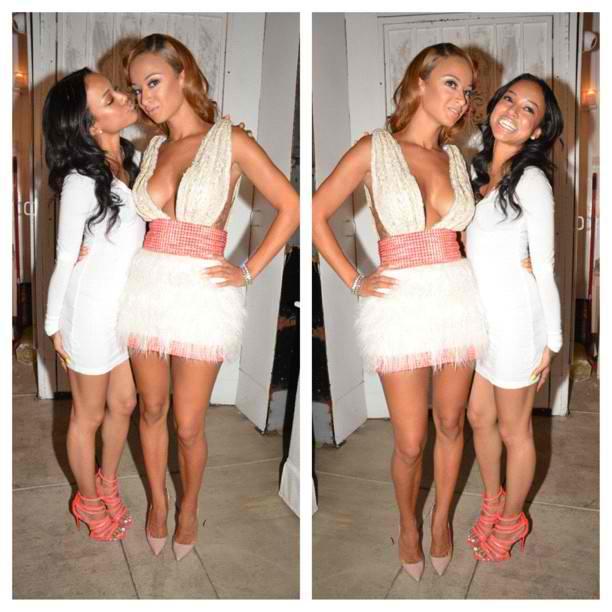 Karrueche Tran and Draya Michele